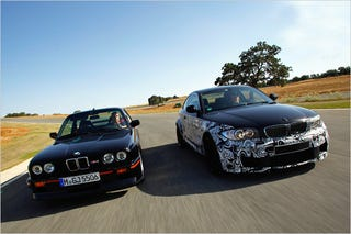 Illustration for article titled BMW 1M Is The New 1 Series M Coupe