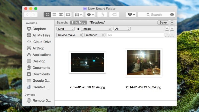 Use Smart Folders on OS X To Put All Your Photos in One Convenient Place