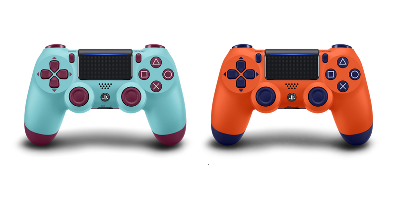 Illustration for article titled Sony Finally Gets A Little Weird With Its New DualShock 4 Colors