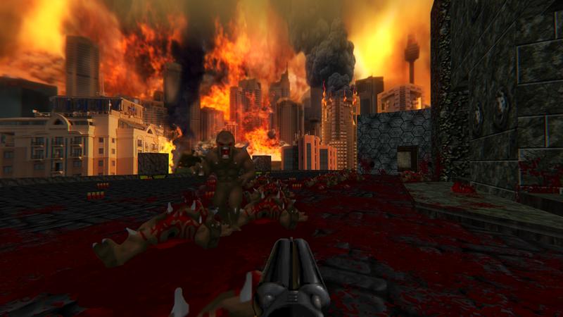 Chơi lại Doom tựa game siêu kinh điển với nền đồ họa 2K đẹp mê hồn