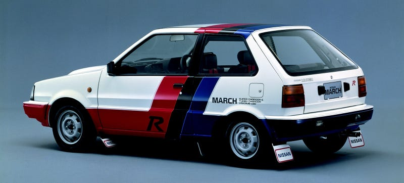 Illustration for article titled Is This Twincharged Nissan The Most Forgotten Homologation Special?