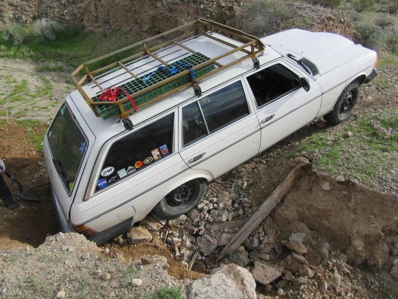 Off Road Wagon >> How To Turn An Old Diesel Mercedes Into The Ultimate Off