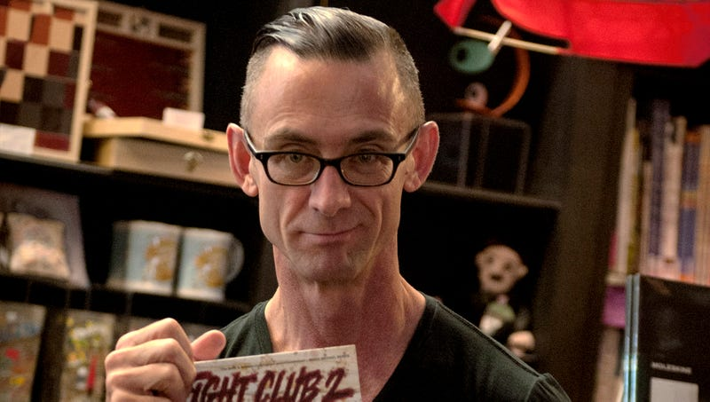 Illustration for article titled Stunted 56-Year-Old Still Writing Chuck Palahniuk Novels