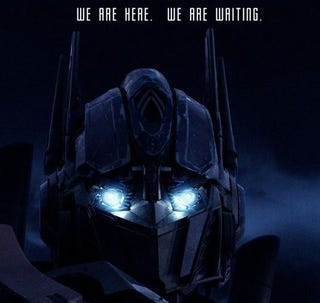 Illustration for article titled Optimus Is Pissed About You Spreading Those Shia Rumors