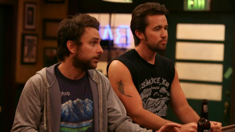 """Illustration for article titled It's Always Sunny In Philadelphia: """"The Gang Reignites the Rivalry"""""""
