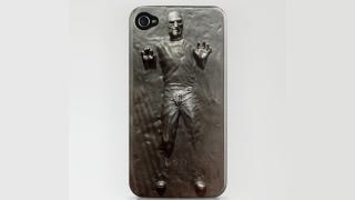 Illustration for article titled Steve Jobs Trapped in Carbonite iPhone Case: Ice Cold