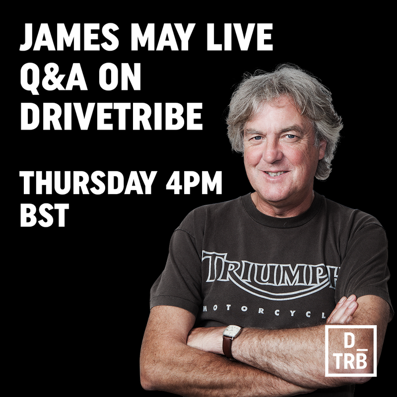 Illustration for article titled James May doing a live AMA!