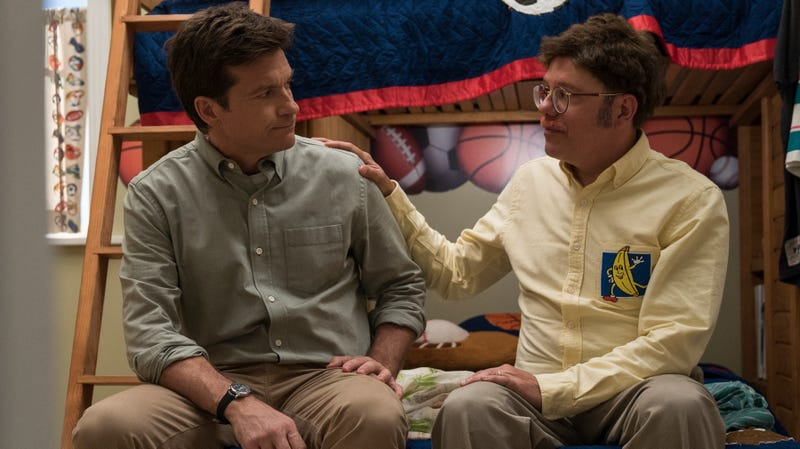 Jason Bateman (left), David Cross
