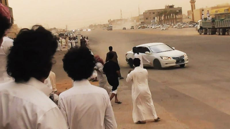 Illustration for article titled Saudis Will Behead Hit-And-Run Drifter