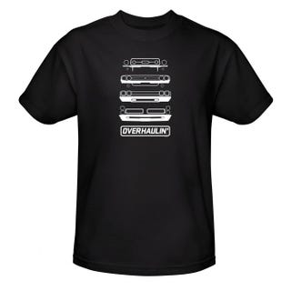 Illustration for article titled Can you spot what's wrong on the Overhaulin' shirt?