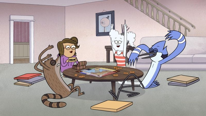 "Illustration for article titled Regular Show: ""Real Date"""