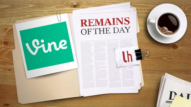 Illustration for article titled Remains of the Day: Vine to be Replaced With Simpler 'Vine Camera' App