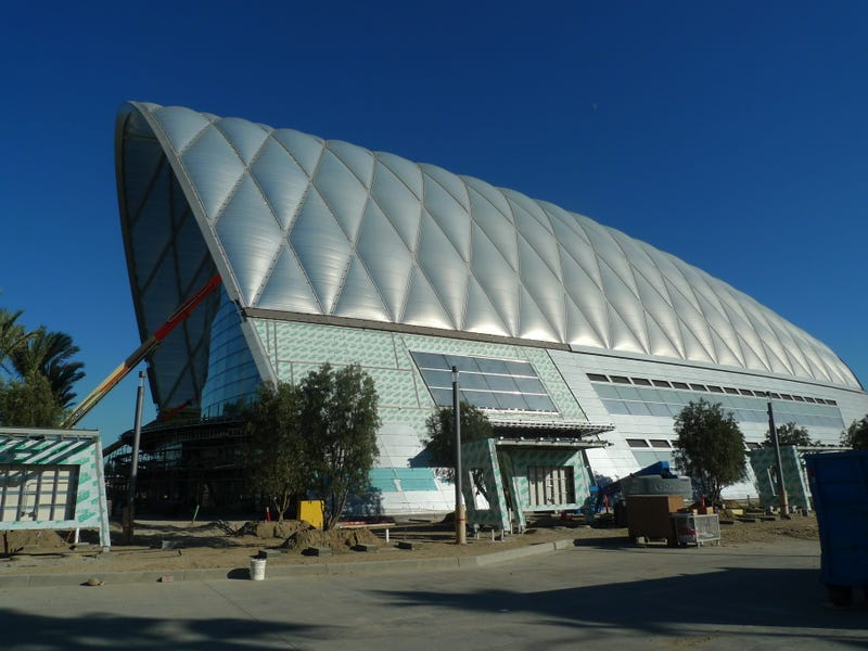A Tour Of The Futuristic Roof On California S High Speed