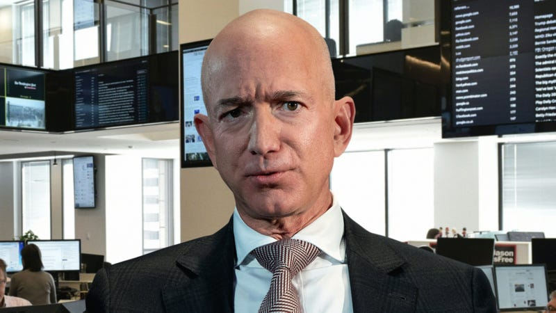 Illustration for article titled Furious Jeff Bezos Reams Out 'Washington Post' Editors After Catching Another Copy-Editing Mistake