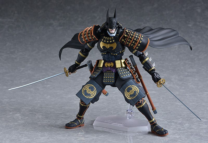 Illustration for article titled Look At This Batman Ninja Action Figure