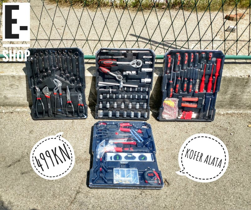 Illustration for article titled Just received a suitcase full of brand new tools for 80 dollars.