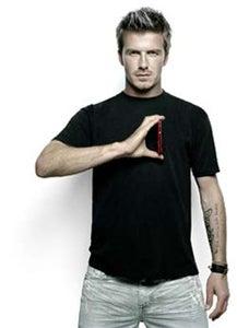 Illustration for article titled Motorola Chooses David Beckham As Brand Ambassador