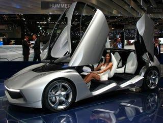 Illustration for article titled Pininfarina Sintesi Concept Hits Geneva Show Floor