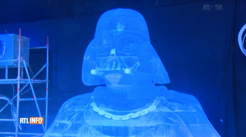 Illustration for article titled Star Wars Ice Sculptures Include Han Solo Frozen in Just Plain Water
