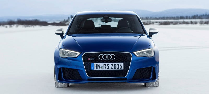 Illustration for article titled It's Happening: 367 HP Five-Cylinder Demon Audi RS3 Planned For U.S.