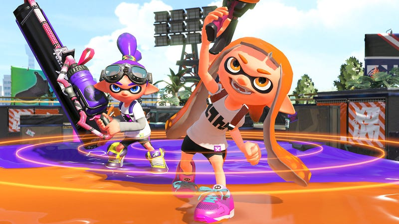 Splatoon 2 Has Cool Easter Egg During Matchmaking Game Rant