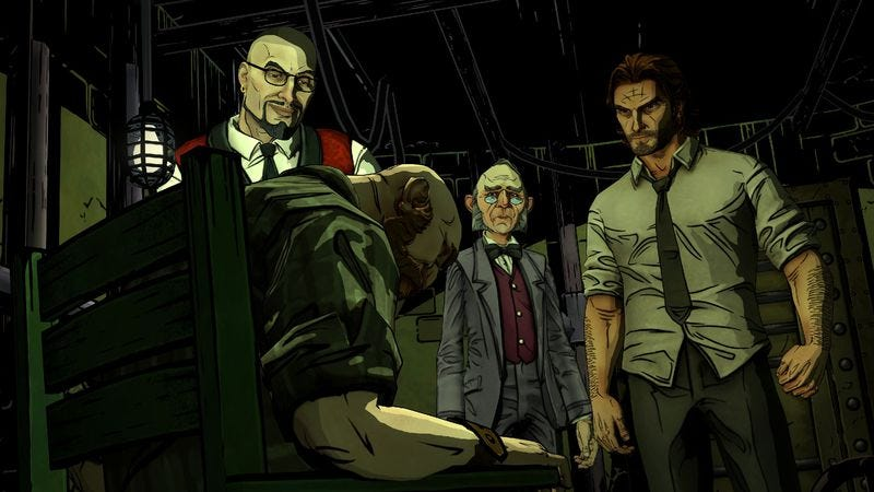 Illustration for article titled The choices feel less important in The Wolf Among Us: Episode 2