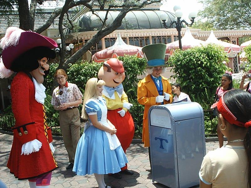 Disneyland. Wikimedia Commons