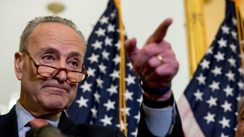 Sen. Chuck Schumer earlier this month. Image: AP