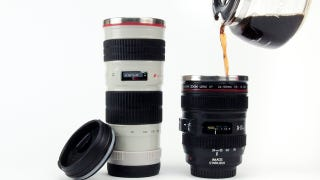 Illustration for article titled Yet More Camera Lens Mugs and Thermoses To Choose From