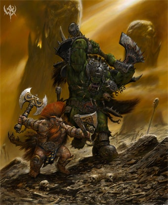 Illustration for article titled Orc Choppas And Dwarf Slayers Invade Warhammer Online