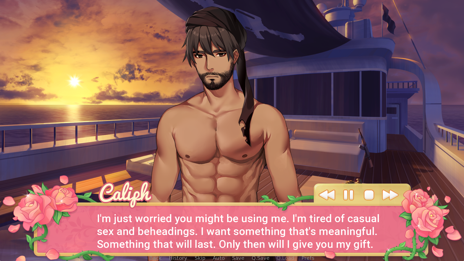 Beach sex with captions
