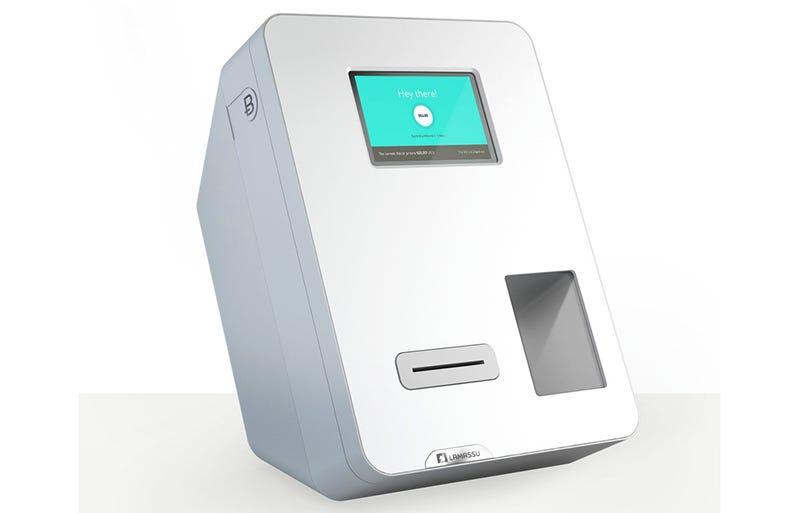 Illustration for article titled Instalan la primera máquina que cambia dólares en bitcoin