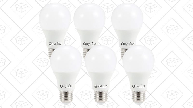 6-Pack OxyLED LED Bulbs, $12 with code OXYA1999