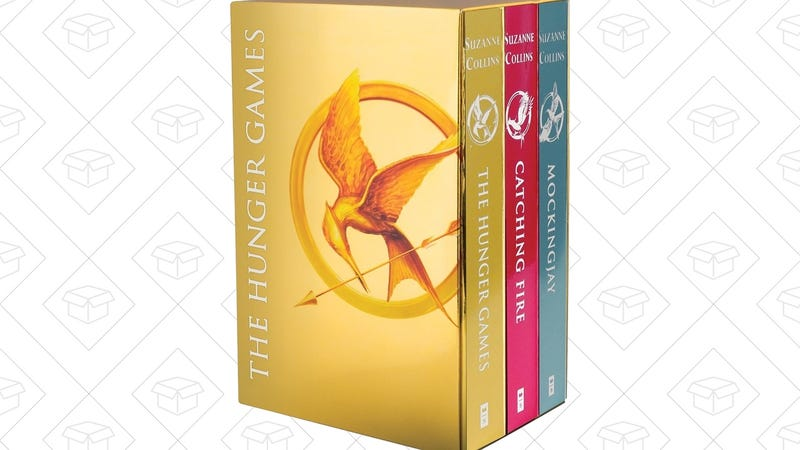 The Hunger Games Box Set: Foil Edition, $6
