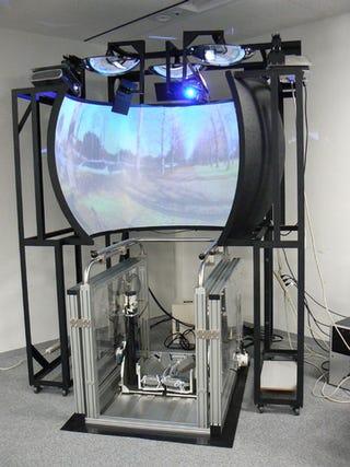 Illustration for article titled VR Treadmill Makes Running Indoors Feel Like Running Outdoors