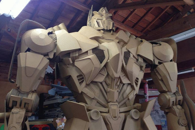 Meet The God of Cardboard Art
