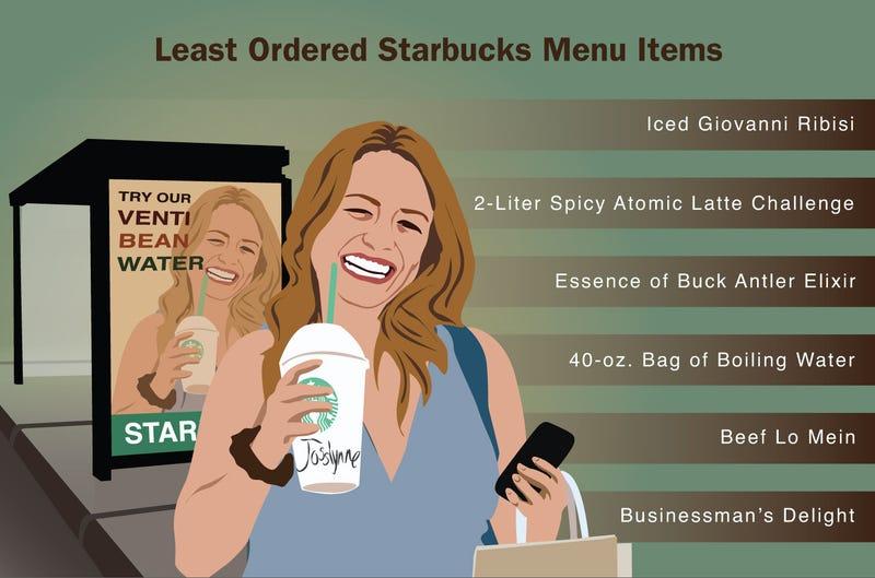 Illustration for article titled Least Ordered Starbucks Menu Items