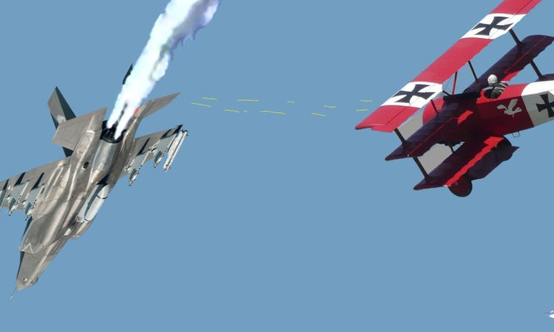 Illustration for article titled Germany shoots down the F35