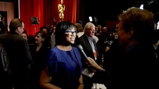 Academy of Motion Picture Arts and Sciences President Cheryl Boone Isaacs  Kevin Winter/Getty Images