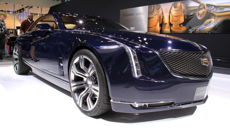 Illustration for article titled Cadillac To Build A Big Flagship Sedan Aimed At Pummeling The 7-Series