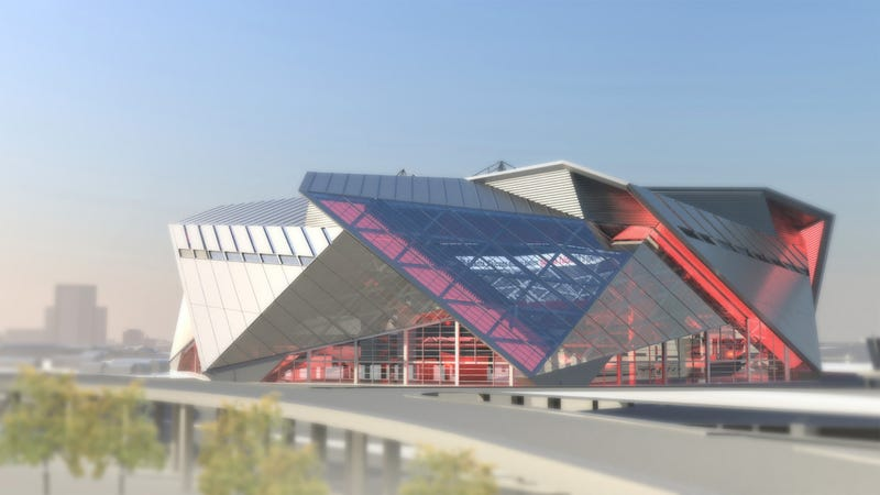 Illustration for article titled New Looks At The New Falcons Stadium