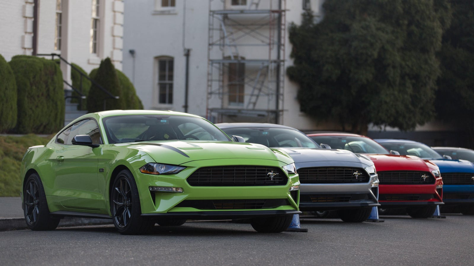 ford mustang ecoboost high performance package
