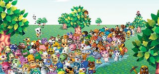 "Illustration for article titled Brave Human Trying To ""Finish"" Animal Crossing, Live"