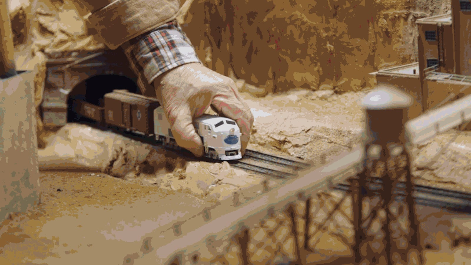A Man's Model Train Hobby Becomes an Artistic Obsession in This Quirky Short Doc