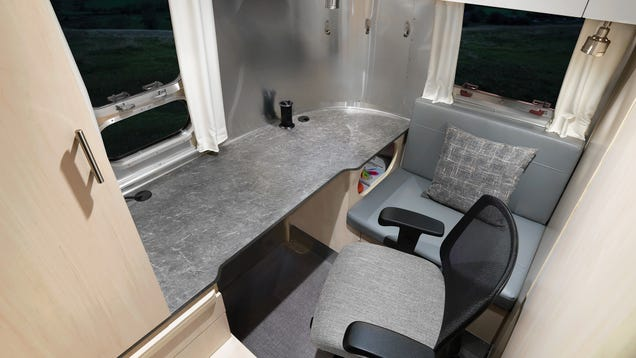 Airstream s Travel Trailers Now Include Tiny Offices Because You Can Never Escape Work
