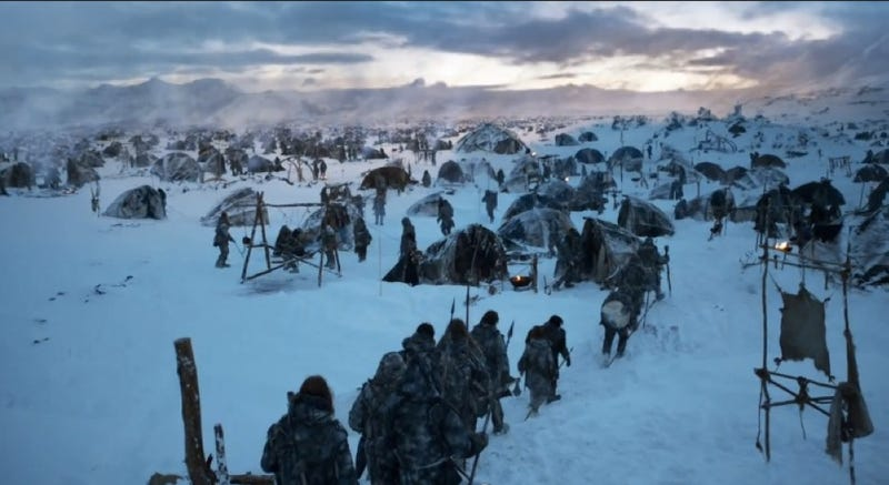 Illustration for article titled All the secrets, reveals and new characters hidden in 3 new Game of Thrones trailers