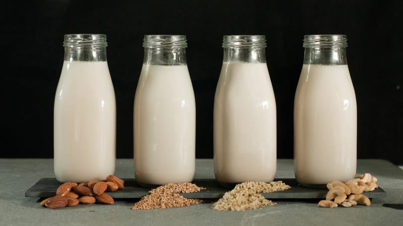 "Illustration for article titled Some dairy farmers would rather you call it ""nut juice"" than almond milk"