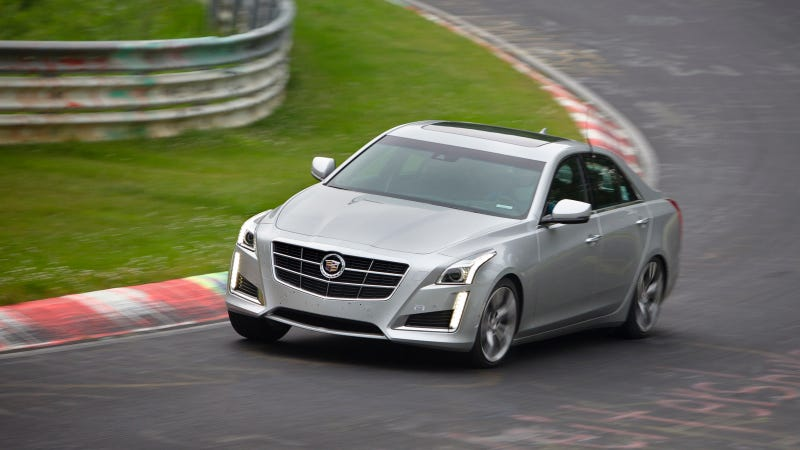 The 2014 Cadillac CTS Vsport Destroys The First V's 'Ring Time