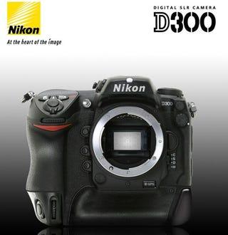 d14ebd3d3fe Nikon Also Preparing D300 for Thursday Launch