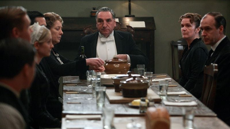 """Illustration for article titled Downton Abbey: """"Season Three, Episode Two"""""""